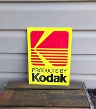Kodak Camera 9 X 12 metal sign photography advertising 50140
