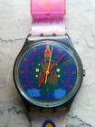 """orologio swatch STANDARD GENT modello """"SARI""""GM 111 anno 1993 NN FUNZIONANTE"""