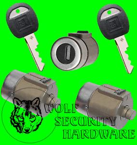 Yukon Blazer Suburban 92 93 94 Front Door & Rear Lock Cylinder Set 2 GM Key