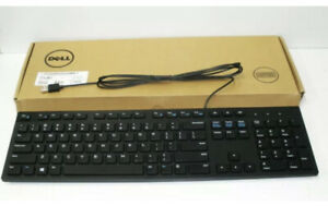 Dell Keyboard And Mouse Set (Wired USB, Multimedia With Optical Mouse)