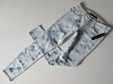 NWT Joe's Jeans The Skinny in Wonderland Acid Wash Stretch Ankle Crop Jeans 24