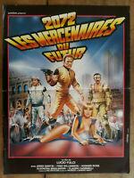 Poster 2072 the Mercenaries of Future Lucio Fulci Jared Martin 15 11/16x23 5/8in