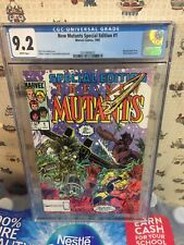 New Mutants Special Edition #1 CGC 9.2...HOME IS WHERE THE HEART IS
