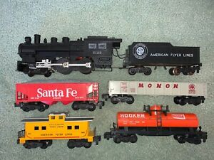 American Flyer #21168 SR Casey Jones set w/UNPAINTED 24225 SF, 24631 24329 24127
