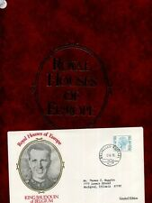 Royal Houses Of Europe 1978 Cover Lot Of 10 With Album