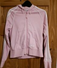 Women's Pink Adidas Track Suit Top. Size 14. Pit To Pit 45cm. VGC!