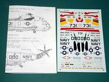 Microscale Decals 72415 1/72 - SH-3H & SH-3D Sea Kings