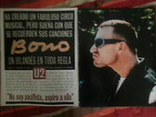 U2 collection lot press magazine newspaper articles interviews reports clipping