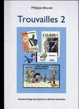 RARE EO N° PHILIPPE MOUVET  + FRANQUIN + HERGÉ + PEYO  : TROUVAILLES N° 2