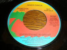 Inner Circle 45 Everything Is Great ISLAND PROMO