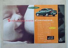 E560 - Advertising Pubblicità - 1997 - RENAULT MEGANE CLASSIC