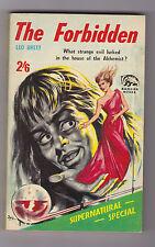 VINTAGE UK SF PB.BADGER SUPERNATURAL STORIES#72.GREAT COVER.RARE TITLE.