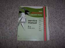 1974 Johnson 2 Hp Model 2R74 Outboard Motor Shop Service Repair Technical Manual