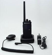 Motorola RDM2020 MURS 2-Way VHF FM Radio w/ Charger and External Mic / Speaker
