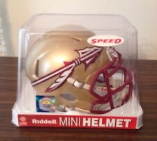 NCAA SPEED MINI HELMETS FLORIDA STATE SEMINOLES By RIDDELL. NEW FOR 2014