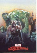 Marvel Masterpieces 2007 Drew Struzan Splash Chase Card #1
