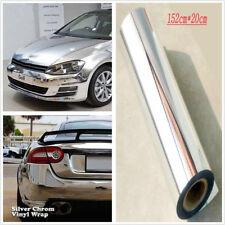Car Styling Vinyl Sticker Electroplated Silver Film DIY Wrap Sheet Film Decal