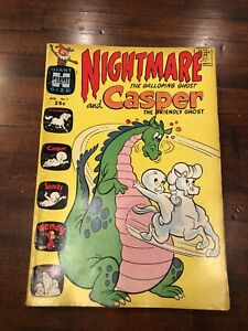 1963 Silver Age Harvey Comics Nightmare & Casper #1 Giant Size  Rare Hot Key 3.0