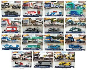 Hot Wheels Car Culture Team Transport - Choose From 22 Transporters 2/26/2021