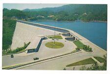FONTANA DAM Observation Building NORTH CAROLINA Postcard NC 1955 KOPPEL