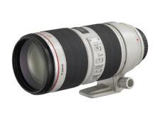 Objetivos zoom Canon EF 70-200mm para cámaras
