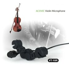 ACEMIC VT-10R Pro Wired Violin Microphone High Fidelity Voice Vibration Protect
