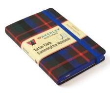 MacDuff Modern Hunting: Waverley Genuine Tartan Cloth Commonplace Notebook (9cm