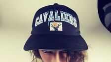 Cleveland Cavaliers Vintage RARE Snapback Black Baseball Cap Hat