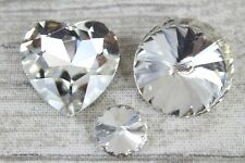 Deluxe Diamante Diamond Ex Large Round Table Gems Confetti Crystal Scatter 24