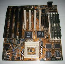 4 isa + 4 pci - Asus VX97 AT mainboard socket 7 - win 98 retrogame - industrial