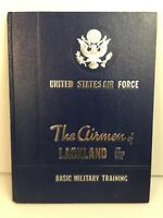 AIR FORCE Airmen of Lackland Training 1979? / 3743 Squadron Military Yearbook