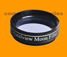 "Crystalview Moon 1.25"" 1.25 inch  Eyepiece Filter for Telescope"