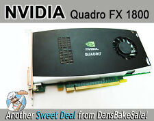Nvidia Quadro FX 1800 Graphics Card in Excellent Condition