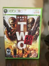 Army of Two: The 40th Day (Microsoft Xbox 360, 2010) Game Complete
