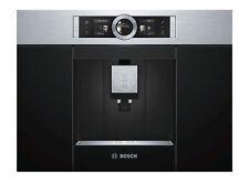 Bosch CTL636ES1 Edelstahl/Schwarz 2 Tassen Kaffeevollautomat