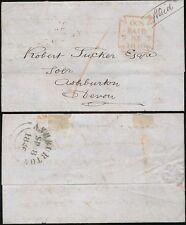 GB QV 1846 Old Cavendish ST filiale CROCE MALTESE pagati a Tucker ashburton