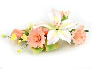 Feinzucker Bouquet Curly Rose Freesia Rosen Blumen Blüten Hochzeit
