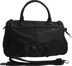 kultige Umhängetasche Schultertasche Doctor`s Bag Tasche Viala / Herold schwarz
