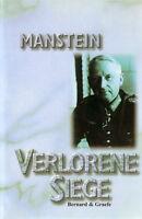 Generalfeldmarschall Erich von Manstein: Verlorene Siege (WW2/Ostfront/Heer/Buch
