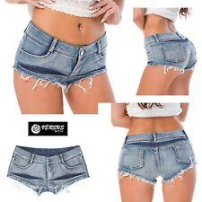 Mini Pantaloncini Jeans Donna - Woman Mini Shorts Jeans JEA018