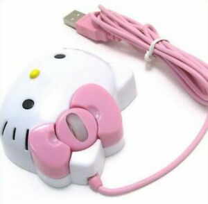 New Hello Kitty Optical 1200dpi USB Mouse For Laptop PC