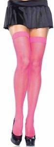 Stockings Fishnet Nylon Thigh High Band Tops Regular Leg Avenue 9011