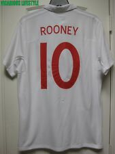 ROONEY #10 England World Cup 2010 v USA Short-Sleeves Home Shirt Jersey 44