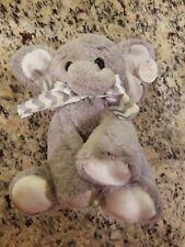 "Bearington Bear Plush Musical Baby Bank Elephant 9"" New With Tag"