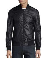 "Brand New CALVIN KLEIN ""BOMBER JACKET"" All SEASONS, Men's L, Luxury BLACK Jacket"