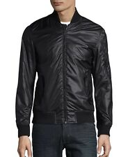 BRAND NEW CALVIN KLEIN BOMBER JACKET ALL SEASON MEN M LUXURY BLACK BOMBER JACKET