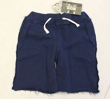 Appaman Boys Knit Shorts Tie Waist Size 12 18 Month  Blue