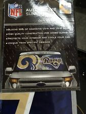 NFL ASNF28 St. Louis Rams Sun Shade (Blocks 99% of UV-A and UV-B Rays)