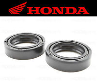 Set of (2) Honda Front Fork Oil Seal (See Fitment Chart) #91255-GAA-003