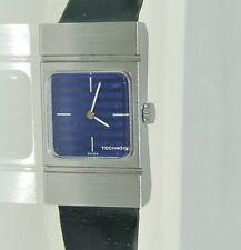 TECHNOS Damen Armbanduhr (332 2452) / Handaufzug / Lederarmband